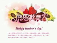 庆祝第28个教师节!