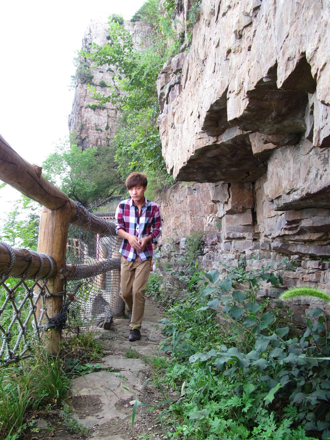本溪平顶山 水洞 观音阁水库游 高清图片