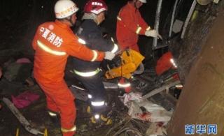 宁夏隆德县发生交通事故已经造成11人死亡