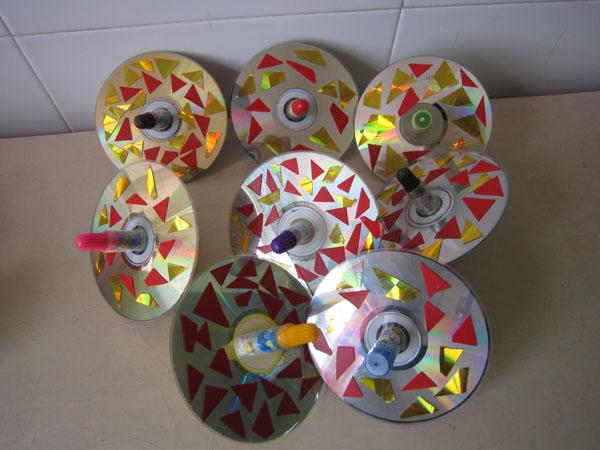 应城市实验幼儿园南园举行了教师自制教玩具作品展示
