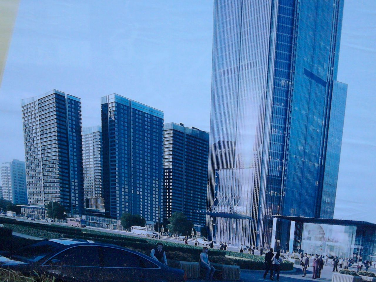 抢先欣赏恒大广场 规划图 房产楼市 抚顺 论坛 高清图片