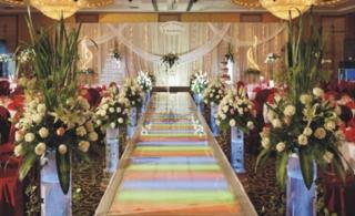 装饰婚礼现场的黄金法则