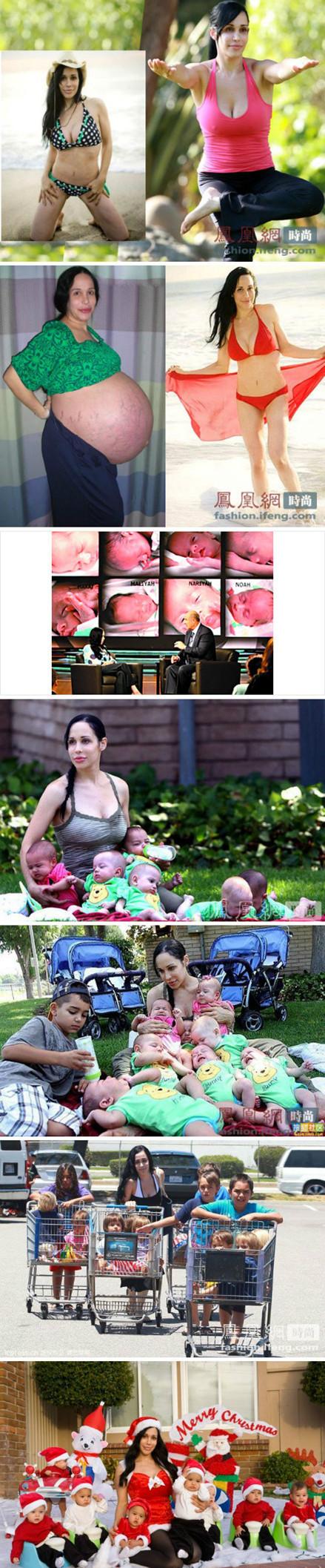 八胞胎妈妈――――-纳迪娅-苏尔曼是全世界都在关注的一位母亲
