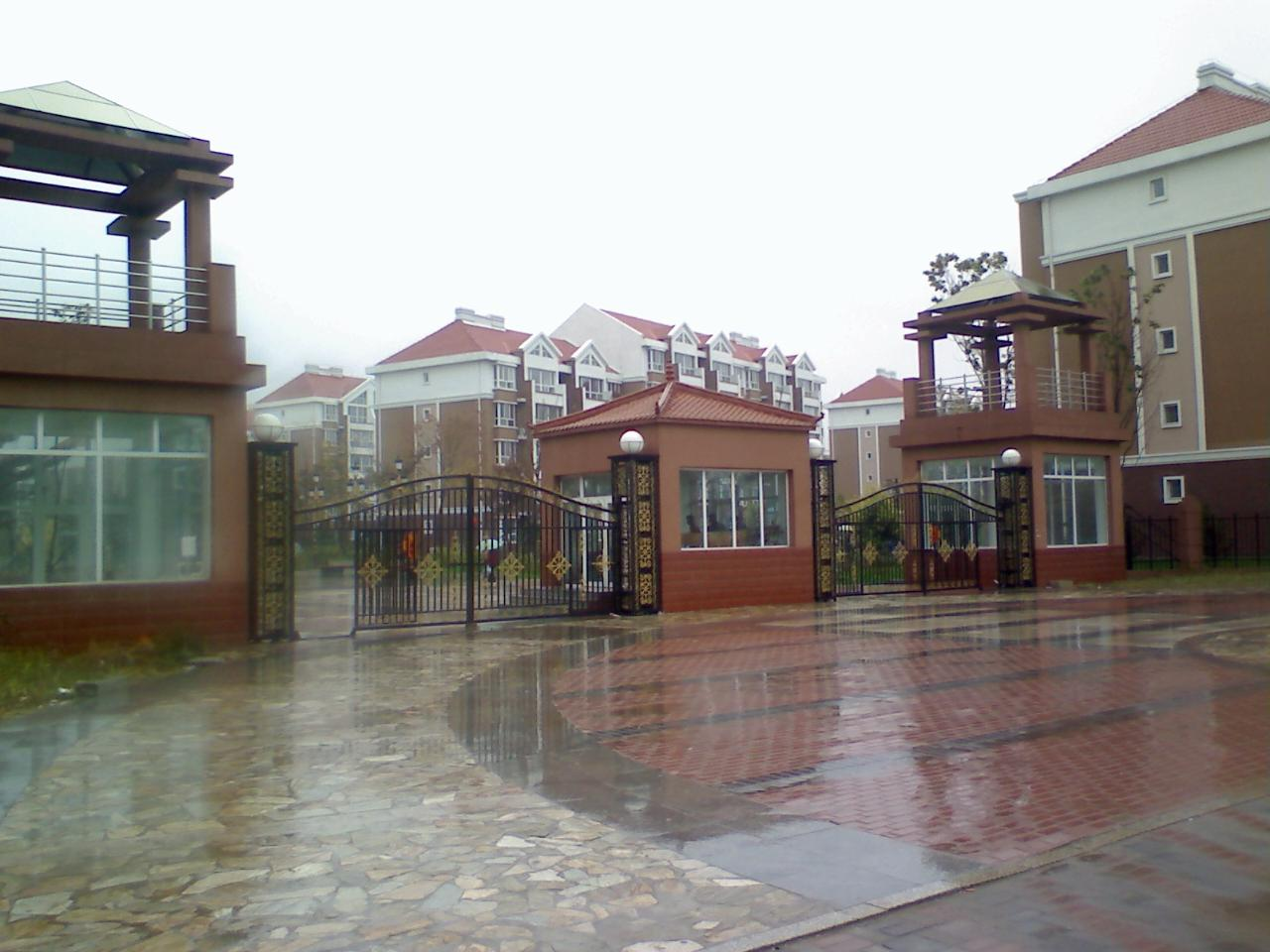 秋雨随拍――滨江嘉园东区