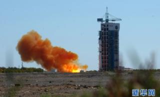 委内瑞拉遥感卫星一号在酒泉发射升空