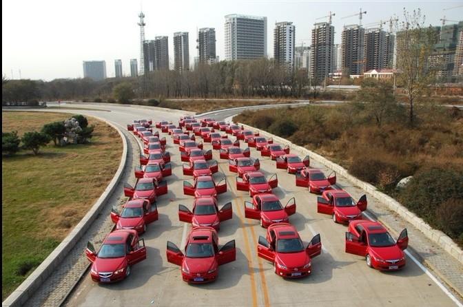 [原创]江北红马婚车队――-专业的婚车服务