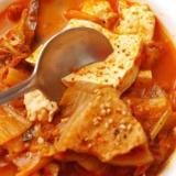 豆腐泡菜汤的制作流程