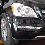 [原创]新提车奔驰GL350氙气灯改装:原装小糸Q5透镜+三菱安定+飞