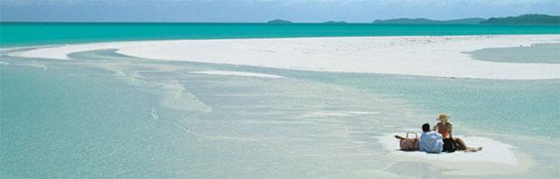 世界上最美沙滩――-蜜月之旅首选之地