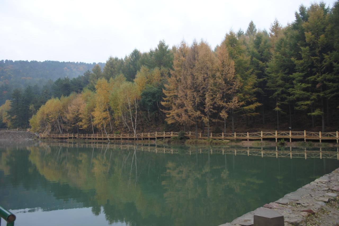隰县石马沟风景区是一个多彩的童话世界