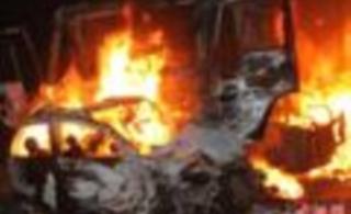 京港澳高速韶关段发生7死3伤的特大交通事故