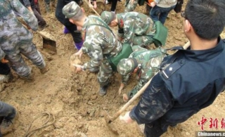 云南彝良滑坡确认18名学生全部遇难800余人受灾