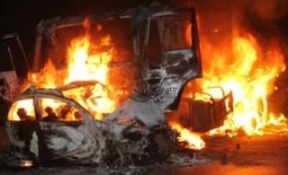 [转贴]京港澳高速韶关段发生特大交通事故7死3伤
