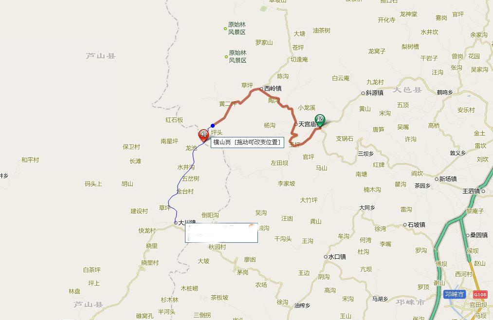 [原创]国庆广汉(成都)-雅安 环游路线骑行