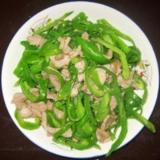 [分享]青椒炒肉丝!