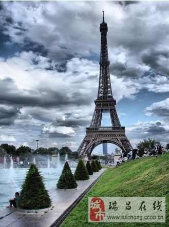 梦幻巴黎,梦幻埃菲尔铁塔!爱摄影