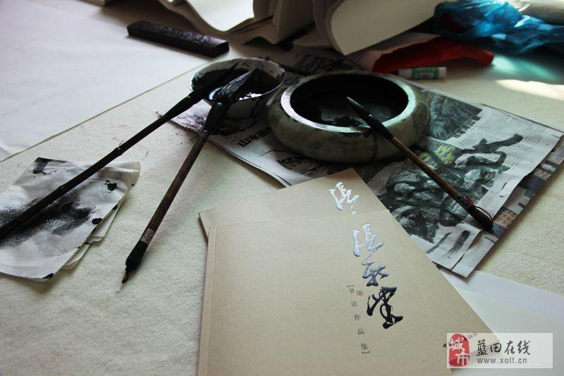 金秋飘墨香――-博文堂书画爱好者的场所