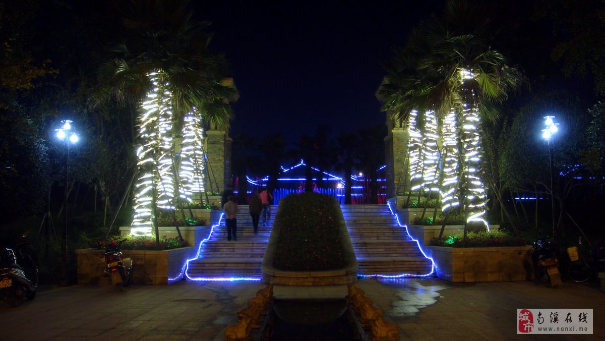 [原创]巴塞罗那庄园——夜景喷泉图片
