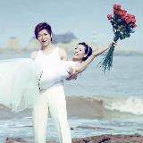 """[分享]""""激情""""海边婚纱照"""