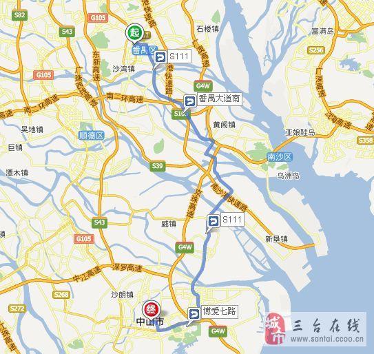 东莞市桥镇地图