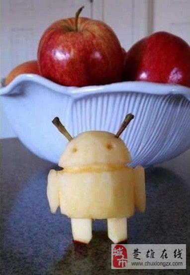 呵呵.....安卓苹果合体了