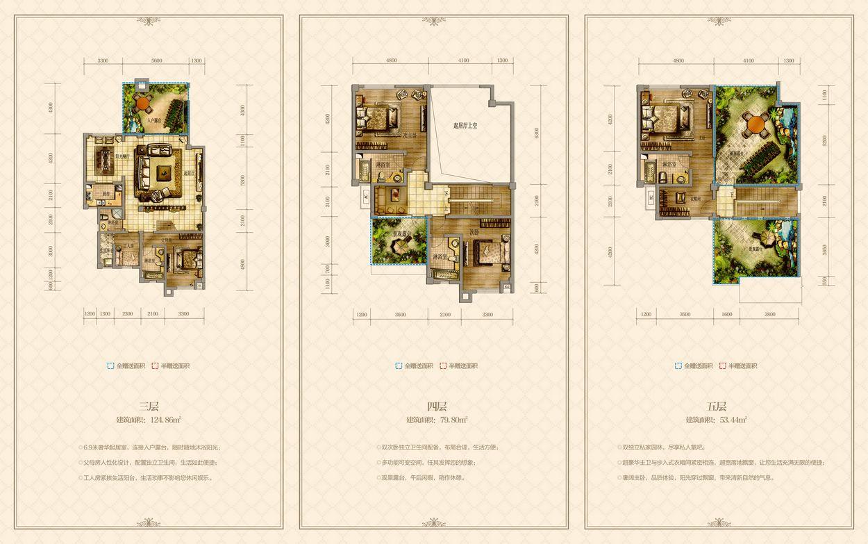 [分享]仁寿中城国际最新户型图资料,供您参考