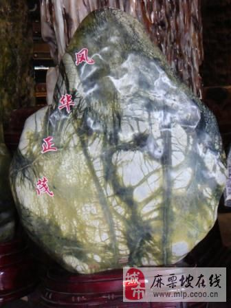[原创]奇石雕刻佳作欣赏(五):风华正茂