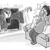 80后孕妇看鬼片给胎儿练胆遭惊吓