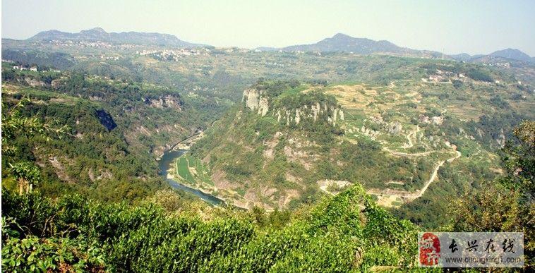 穿岩十九峰景区地图
