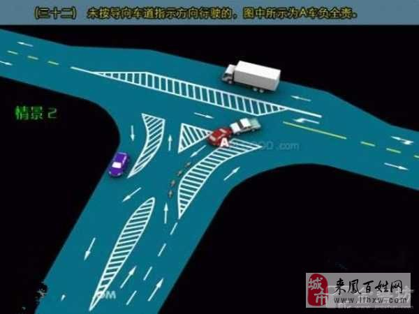 [讨论]最新版交通事故责任划分图示