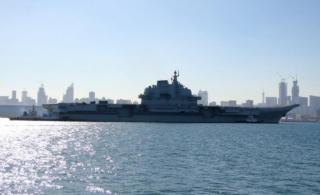 辽宁号航母完成服役后首次试航归来