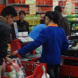 [原创]武邑县联华超市收银员如此霸道