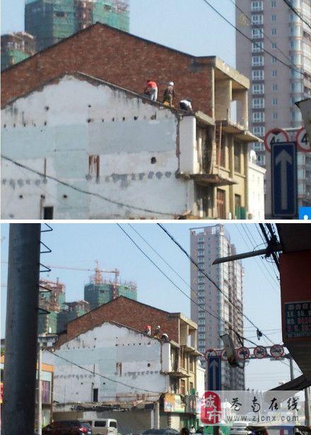 瓯南大桥文卫路旧房开始拆迁