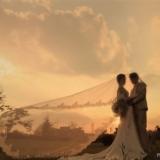 浪漫秋景婚纱照