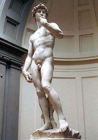 你什么时候看到欧洲雕塑或者油画作品中