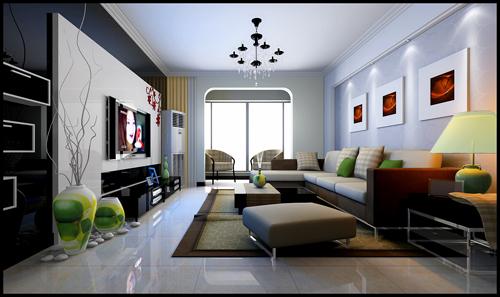 100平米复式两层家庭装修平面图及效果图设计