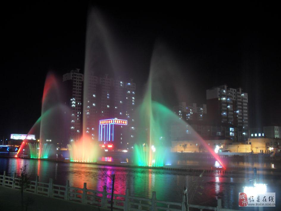 [原创]新葡京湫水河喷泉重现临州!