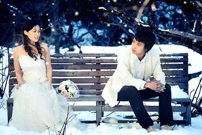 冬天去哪拍婚纱照准新娘冬天拍婚纱照的四种选择