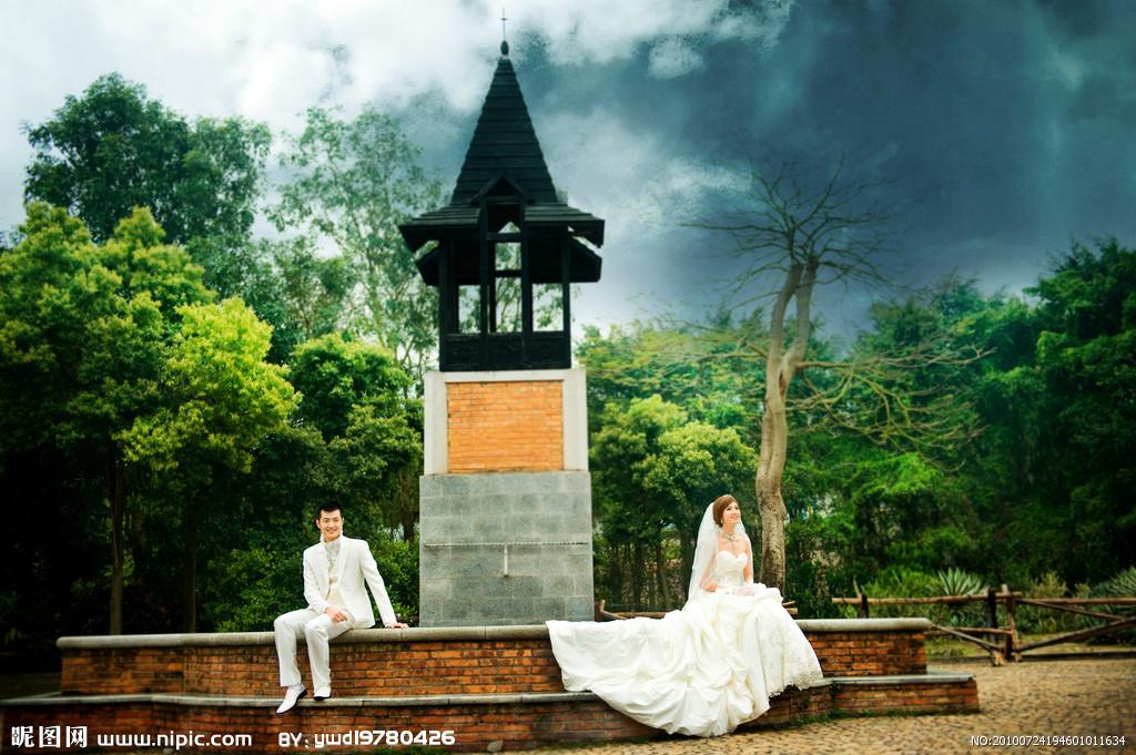 婚纱照欣赏