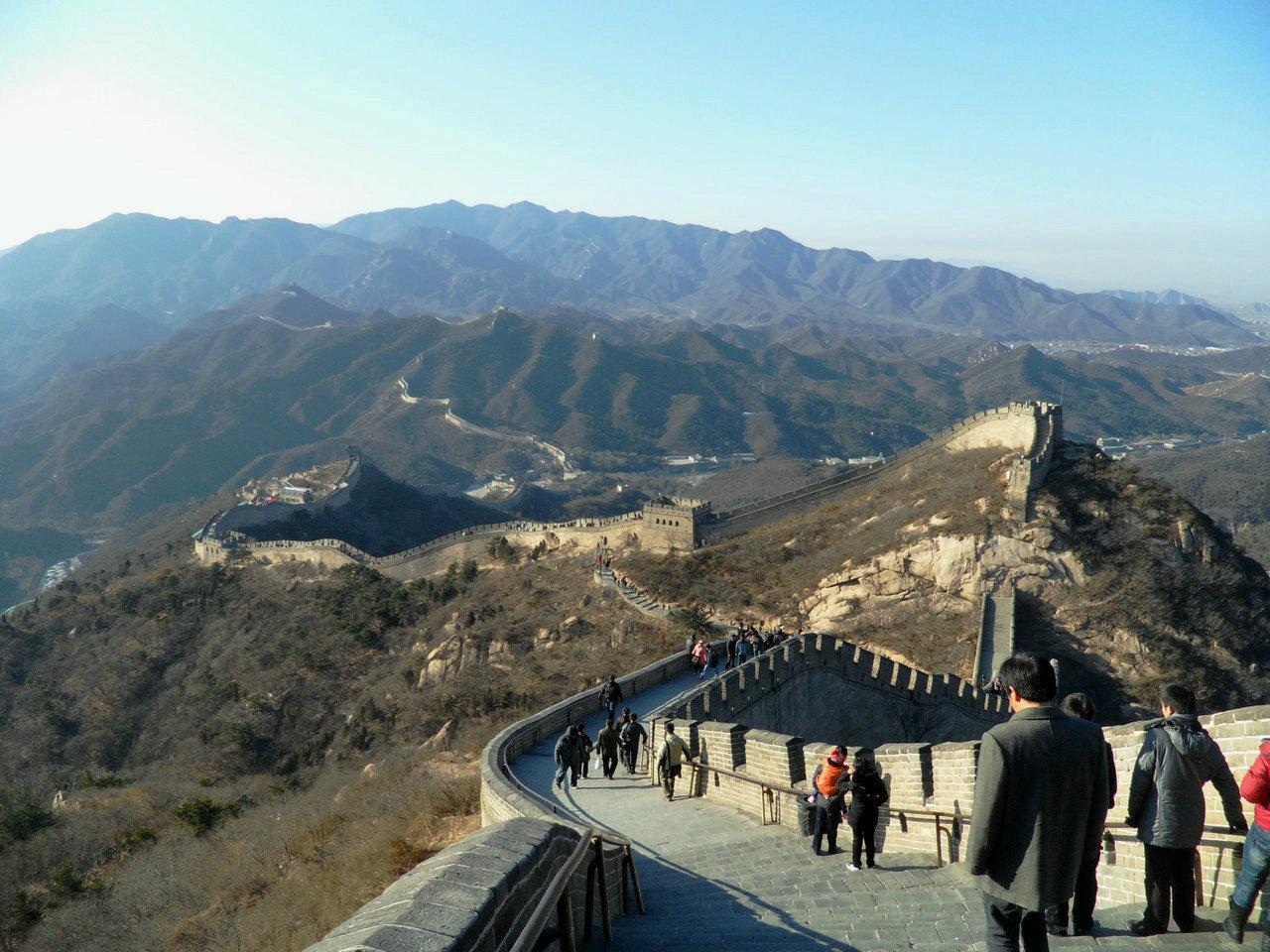 [原创]冬季里的北京八达岭长城
