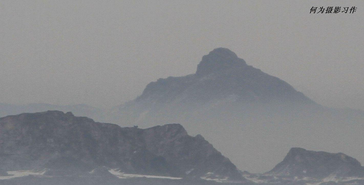 [原创]朦胧之中的奶头山---是谁在仰望天空_风光