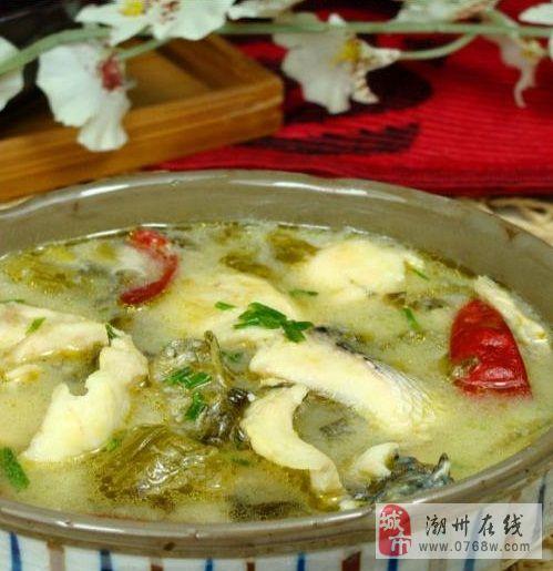 酸菜鱼――潮州人喜欢的辣食