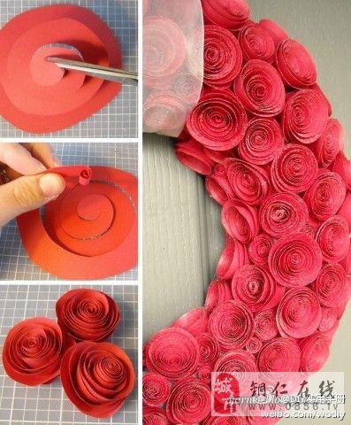 简易的玫瑰做法