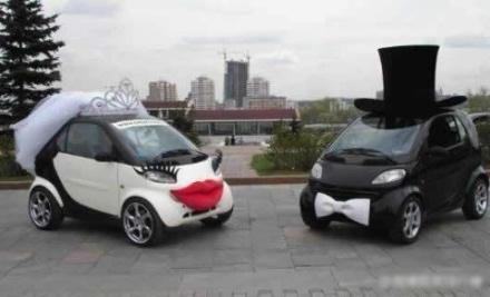 [贴图]这样的婚车是不是很别致呢