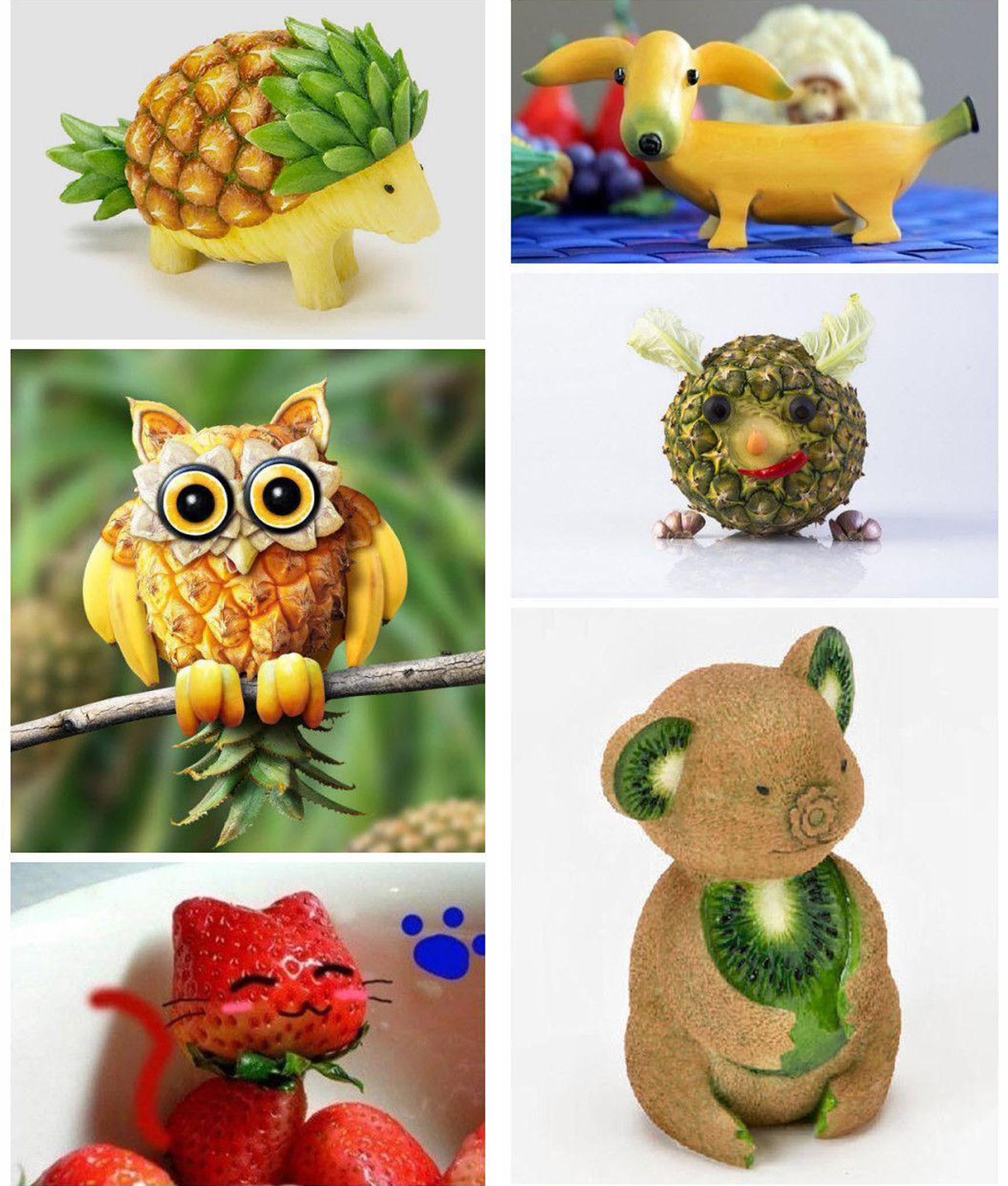 [贴图]可爱水果动物_趣味照片