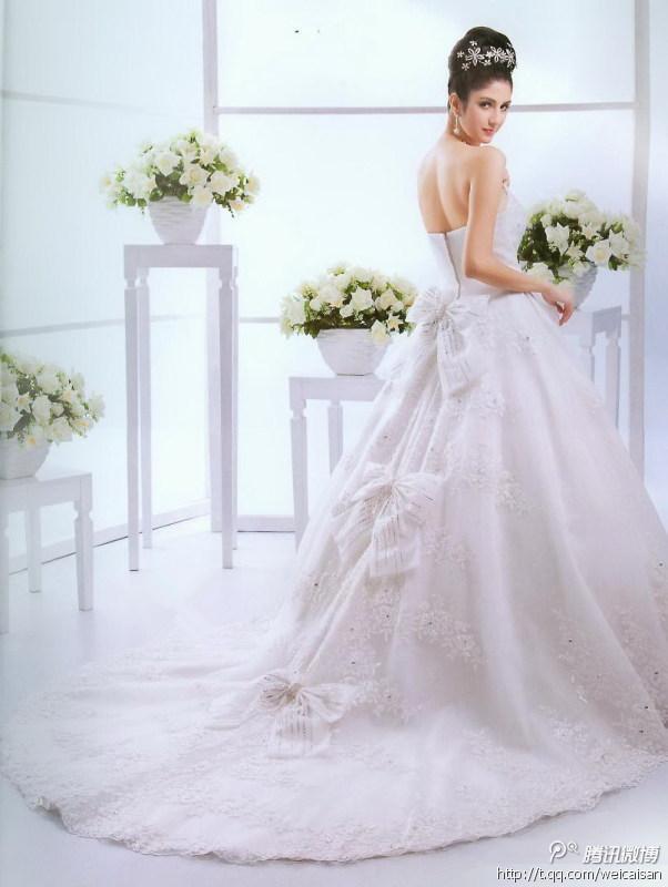 最美的白色,最自然的微笑,这样的婚纱照真美!
