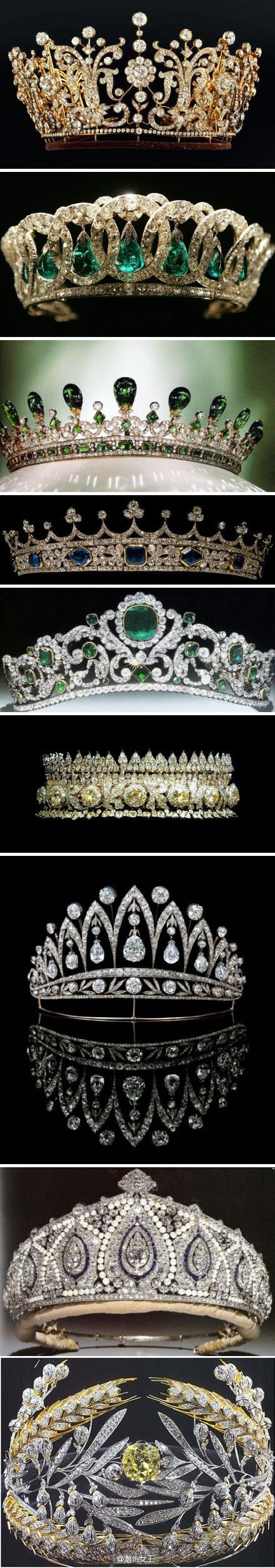 [转贴]冠冕,每个女人都梦想着有一顶这样的皇冠,都有着一颗女王的心