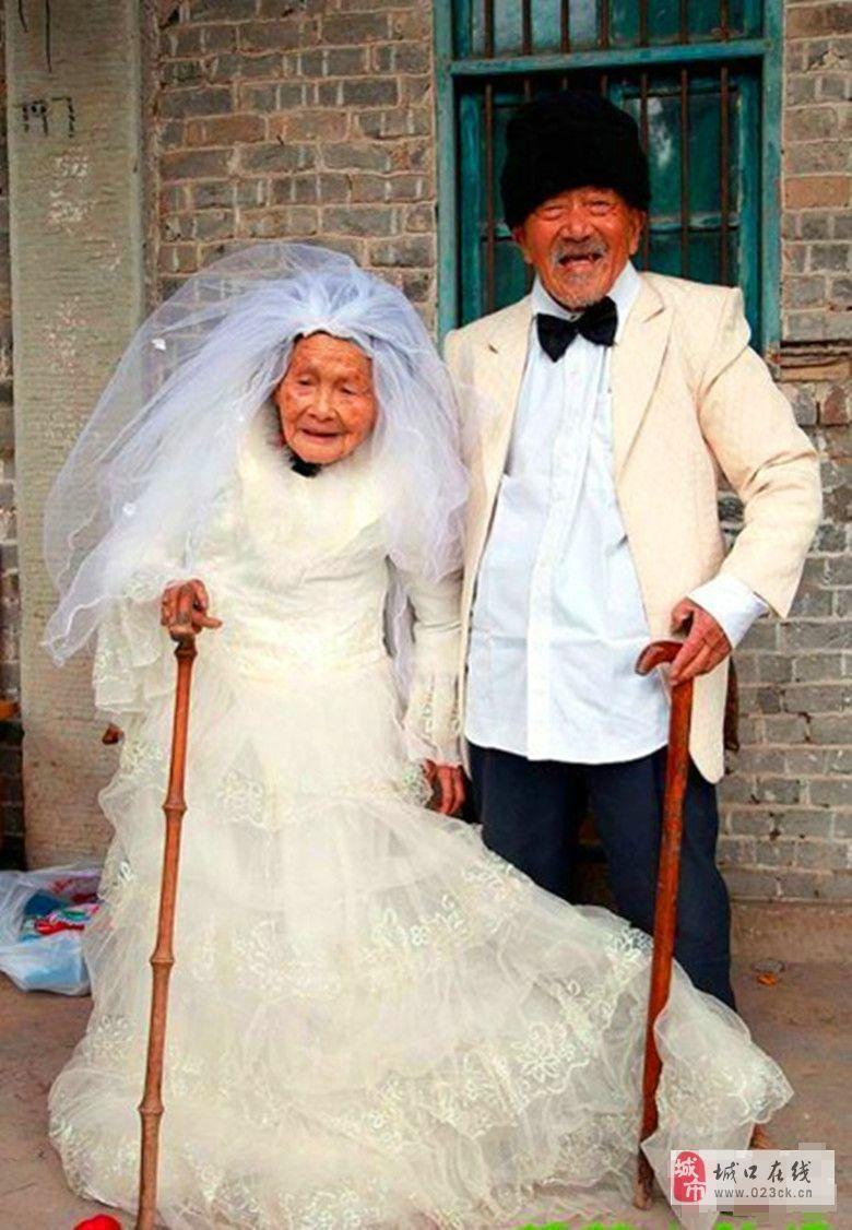 这样的婚照更感人!