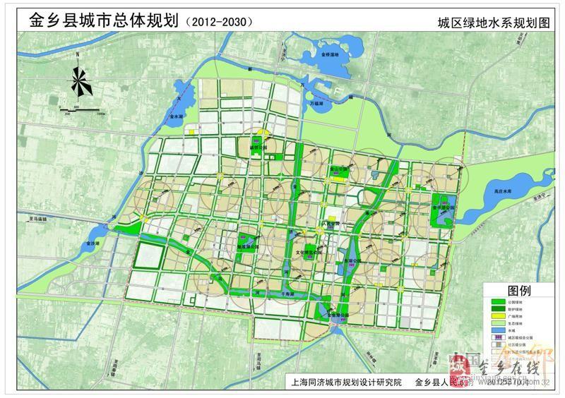 山东济宁金乡县地图