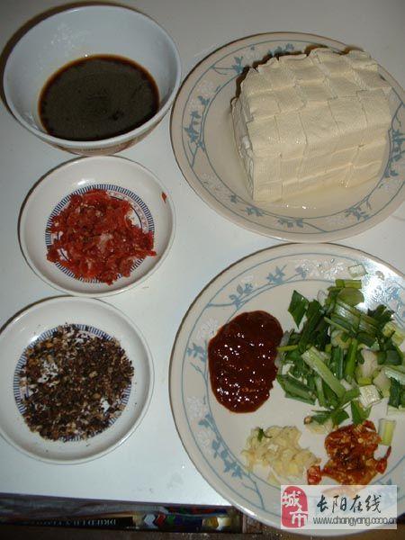 麻婆豆腐的制作